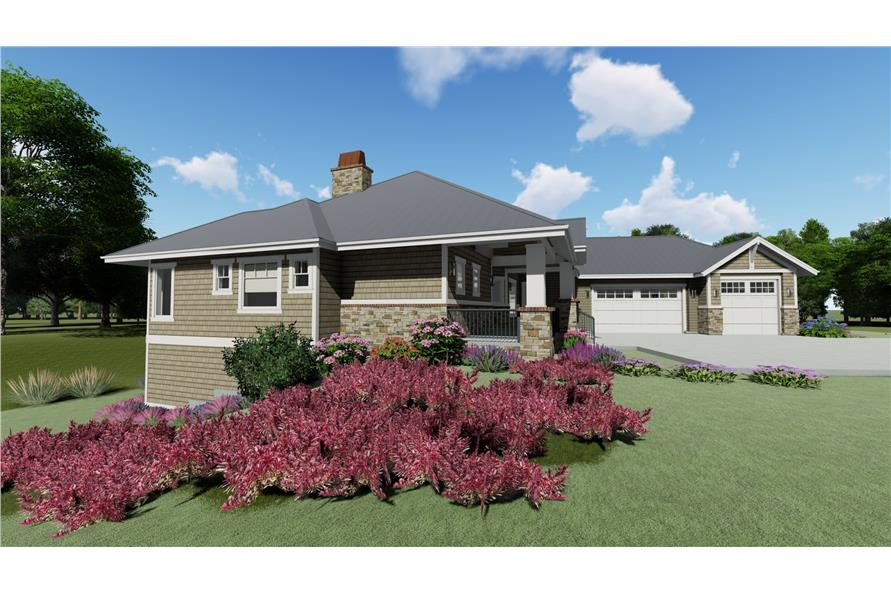 Home Plan Rendering of this 2-Bedroom,2605 Sq Ft Plan -2605