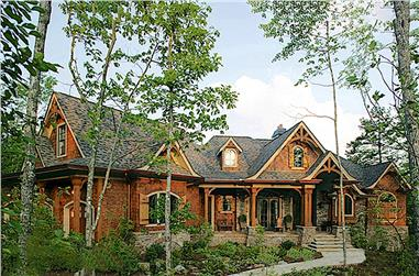 3-Bedroom, 2343 Sq Ft Arts and Crafts Home - Plan #198-1005 - Main Exterior