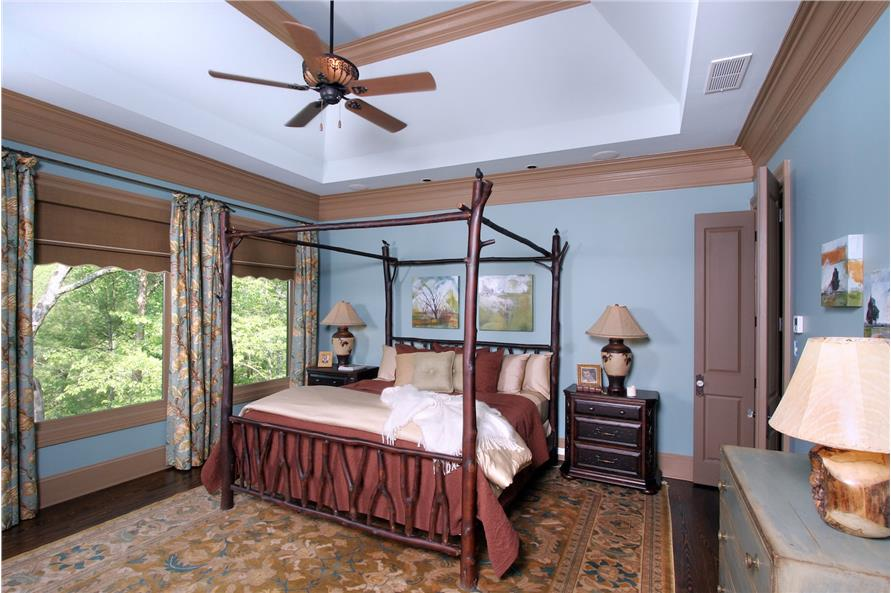 Master Bedroom of this 3-Bedroom,2587 Sq Ft Plan -2587