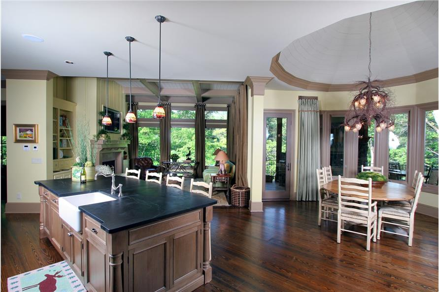 Kitchen of this 3-Bedroom,2587 Sq Ft Plan -2587