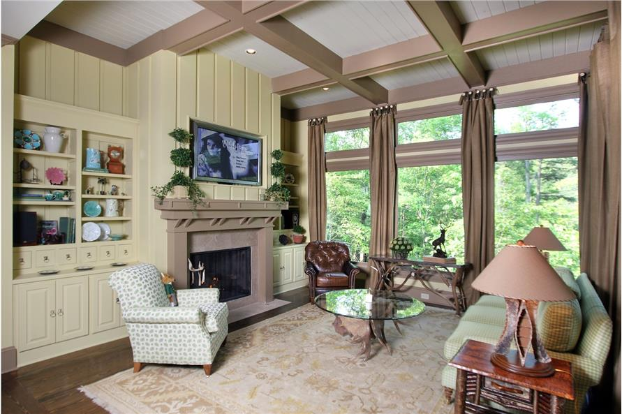 Sitting Room of this 3-Bedroom,2587 Sq Ft Plan -2587