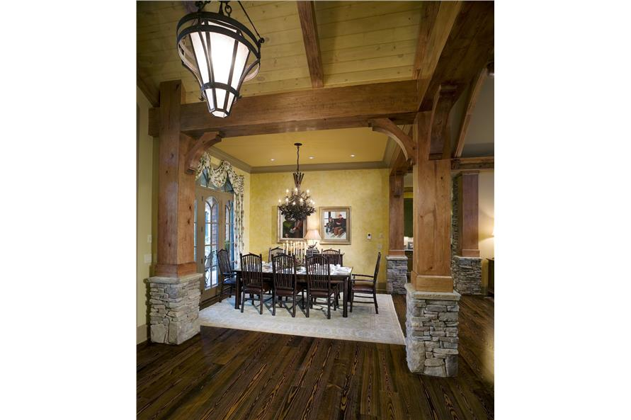 Dining Room of this 3-Bedroom,2587 Sq Ft Plan -2587
