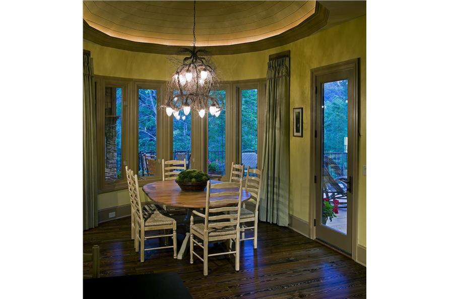 Kitchen: Breakfast Nook of this 3-Bedroom,2587 Sq Ft Plan -2587