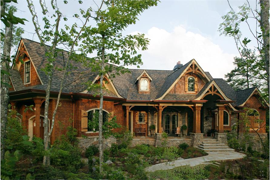 3-Bedroom, 2587 Sq Ft Arts and Crafts Home - Plan #198-1006 - Main Exterior