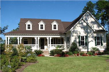 3-Bedroom, 2045 Sq Ft Ranch House - Plan #198-1024 - Front Exterior