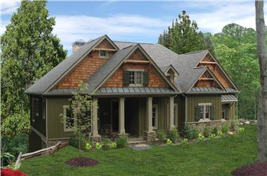 3-Bedroom, 1997 Sq Ft Cottage House - Plan #198-1061 - Front Exterior