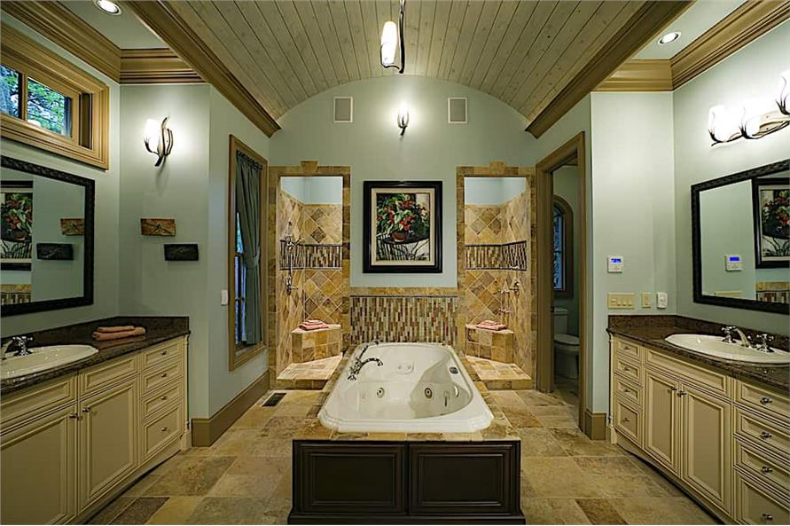 Master Bathroom of this 4-Bedroom,3773 Sq Ft Plan -3773