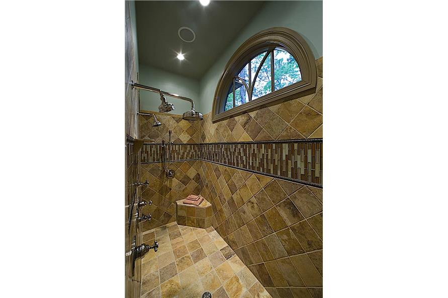 Master Bathroom: Shower of this 4-Bedroom,3773 Sq Ft Plan -3773