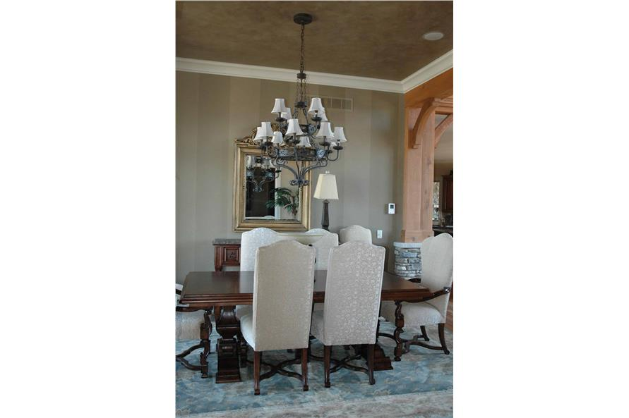 Dining Room of this 4-Bedroom,3773 Sq Ft Plan -3773
