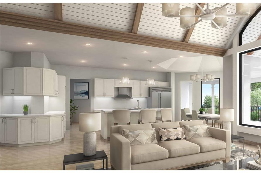 Home Interior Photograph of this 4-Bedroom,3773 Sq Ft Plan -3773