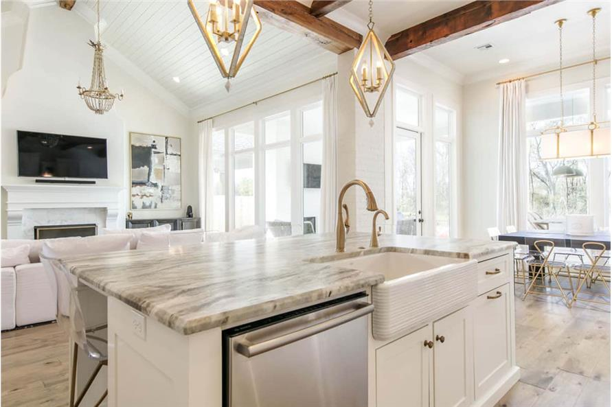 Kitchen of this 4-Bedroom,3254 Sq Ft Plan -3254