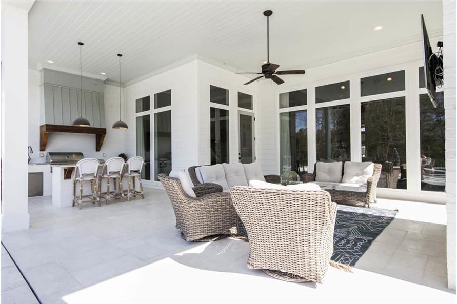 Porch of this 4-Bedroom,3254 Sq Ft Plan -3254