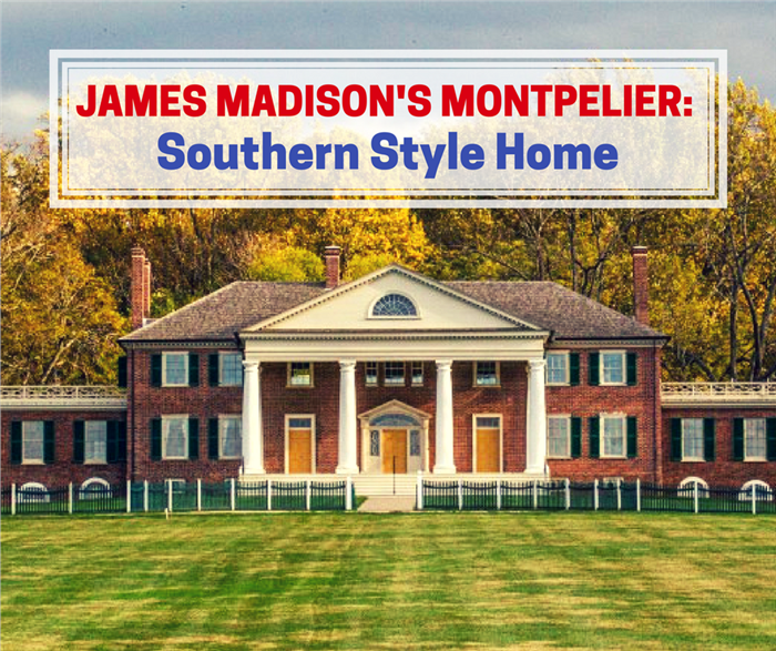 Image of James Madison's Montpelier for article about the home