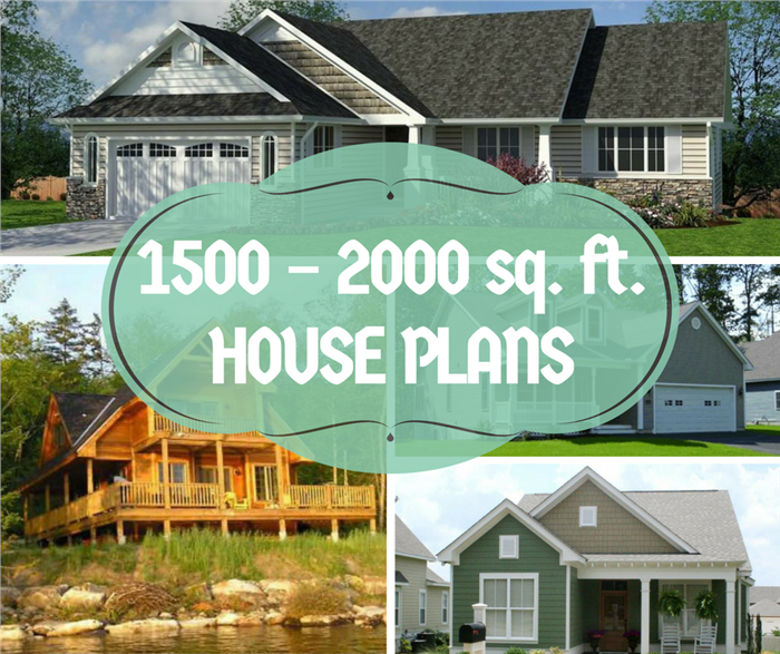images showing 1500-2000 sq. ft. house plans