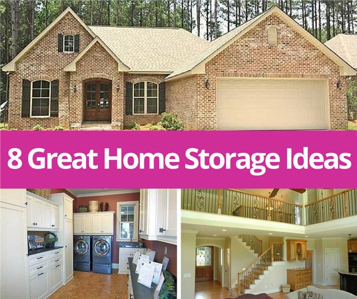 8 Great Home Storage Ideas