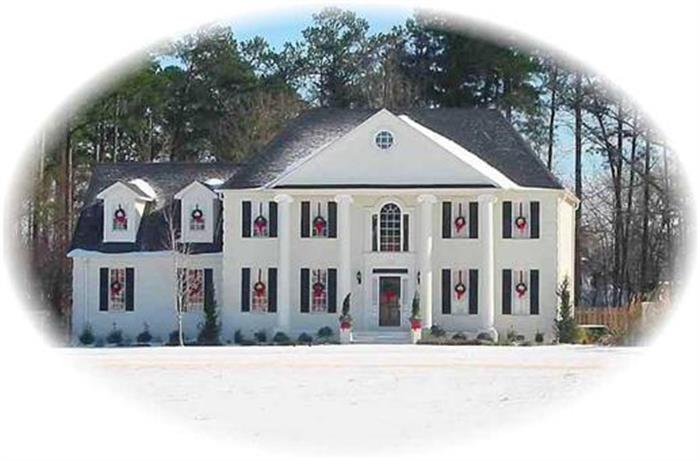 Colonial Architecture - Colonial Home