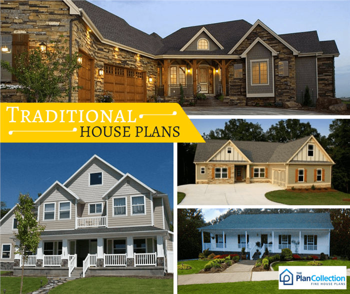 Traditional House Plans - America's Style