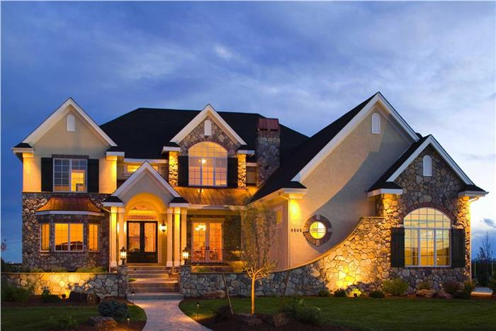 Luxury home with amazing curb appeal