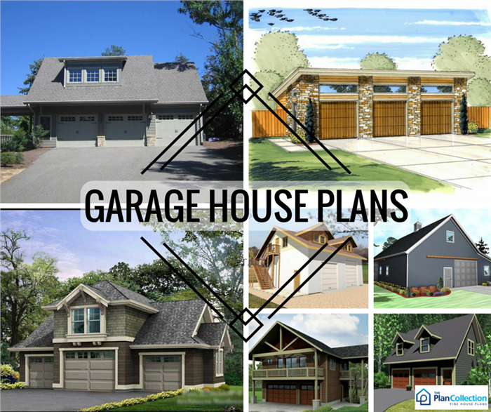 Garage Plans with Shops, Apartments and Bonus Square Feet