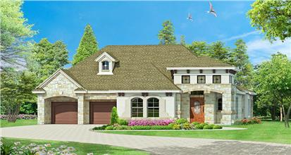 TPC style Tuscan Style House Plans