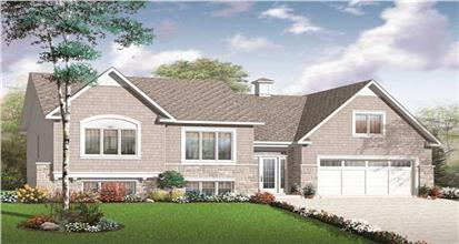 TPC style Split Level House Plans
