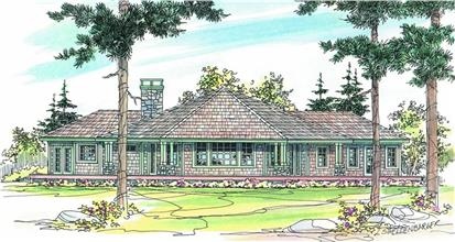 TPC style Transitional House Plans