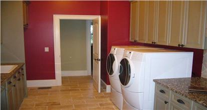 TPC style Laundry Room on Main Level