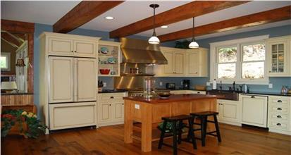 TPC style Eat-In Kitchen House Plans