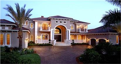 TPC style Courtyard Home Plans