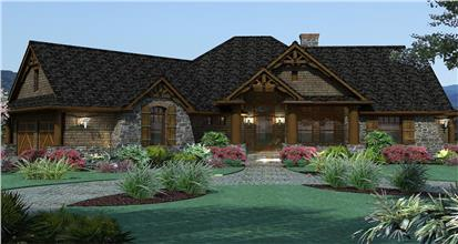 TPC style Bonus Room House Plans
