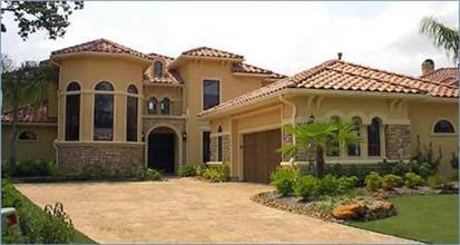 TPC style Mediterranean House Plans