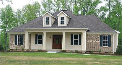 TPC style Country House Plans